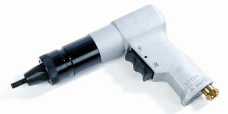 Nut rivet tool